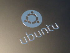 UBUNTU Label / Aufkleber / Sticker / Badge / Logo 35mm x 28mm [184]
