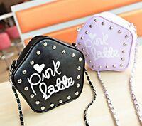 Lady Girl Small Wallet Long Chain Shoulder Bag Handbag Tote Hobo Phone Bag Purse