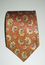 ERMENEGILDO ZEGNA Floral Silk Neck Tie-Italy