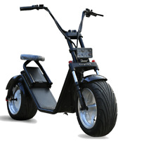 Moto electrica scooter de 1200w bateria 60v 12Ah patinete bici chopper City Coco