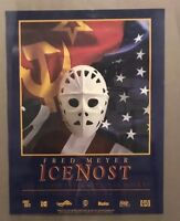 1990 USA VS USSR International Hockey F Meyer Memorial Coliseum Poster Ice Nost