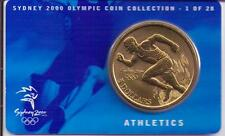 2000 $5 RAM UNC Coin Sydney Olympic coin collection- 1 of 28 (Athletics) + cover