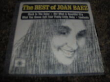 "JOAN BAEZ     ""The Best Of""     Roulette Records P/C EP 45 Vinyl"