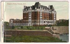 Empress Hotel Victoria BC Canada   Postcard