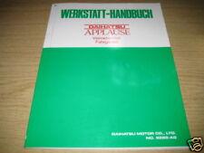 Werkstatthandbuch Daihatsu Applause Allrad, Stand 1989