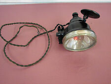 1910s 1920s ANTIQUE FIRE TRUCK  MOTORCYCLE F W WAKEFIELD RED SPOT SEARCH LIGHT