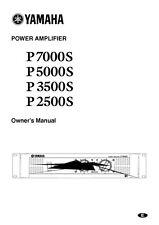 Yamaha P-7000-S Amplifier Owners Manual
