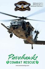 WW Decals 35-07L 1/35th M/HH-60G Pavehawk-Combat Rescue