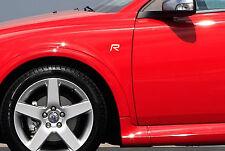 3 x Volvo R-Design Aufkleber für Flügel S40 S60 S80 V40 V50 V70 C70 Emblem Logo