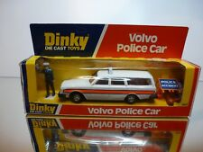 DINKY TOYS 243 VOLVO 245 ESTATE POLICE CAR - WHITE- VERY GOOD CONDITION IN BOX