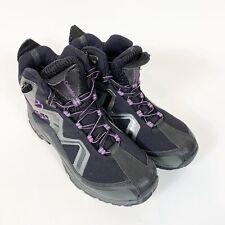 Columbia Sportswear Womens Hoodster Outdry Trail Shoe Black/Purple Sz 8 Hiking