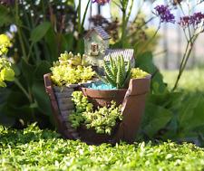 Fairy Garden Planter Pot Fairy Lovers for Indoor & Outdoor Garden Yard Decor