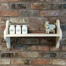*PAINT YOUR OWN* Shabby Chic Pine Shelf/Shelf Unit/Wall Unit/Cabinet