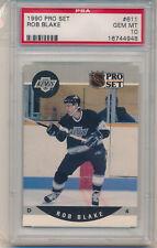 1990 Pro Set Rob Blake (Rookie Card) (HOF) (#611) PSA10 PSA