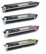 4-Pack/Pk CF350A CF351A CF352A CF353A 130A Toner For HP LaserJet M176n  M177fw
