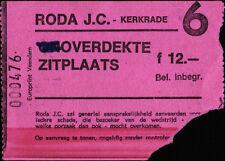 Ticket 03.08.1986 roda jc kerkrade-borussia mönchengladbach