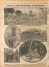 Orthodox Chapel Serbia Camp Salonica Front Salonique Greece Macedonia 1916 WWI