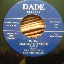 HEAR Mod R&B Dancer - Nat Kendrick-King Coleman - Mash Potatoes - Dade 45