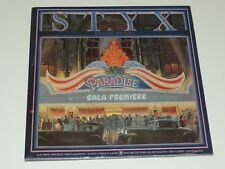 STYX paradise theatre Lp RECORD GATEFOLD LASER ETCHED VINYL 1981