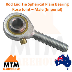 Rod End Tie Spherical Plain Bearing Rose Joint - Male Imperial
