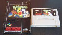 Super Nintendo SNES Adventures of Dr Franken cart only & Manual