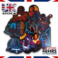 30 Pcs/Lot Stickers neon MARVEL Avengers Super Hero For Car Laptop Skateboard UK