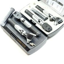 NEW PROFESSIONAL DIAGNOSTIC OTOSCOPE OPTHALMOSCOPE SET-LED 5000 OPTHALMOSCOPE
