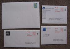 4 Enveloppes préaffranchies : 3 PAP POSTREPONSE et 1 DESTINEO 50g, NEUVES