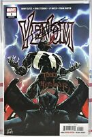 🔥 SIGNED! VENOM #1 TODD MCFARLANE + DONNY CATES 🔑 FIRST PRINTING 2018 Spawn