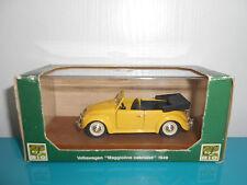 2603175 VW volkswagen coccinelle beetle cabriolet 1949 maggiolino jaune RIO 1/43
