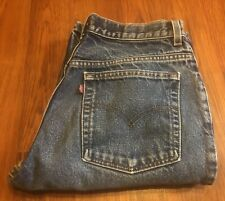 Womens Vintage Levis 517 Boot Cut Slim Fit High Waist 11 JR L Made USA 31x32.5