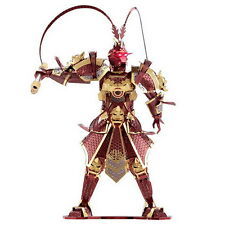 Piececool 3D Metal The Monkey King Wukong Models DIY Laser Cut Jigsaw Xmas Toy