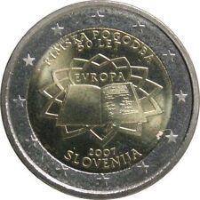Pièces euro de la Slovénie pour 2 euro Année 2007