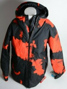 2021 NWT MENS VOLCOM OWL 3-IN-1 GORE-TEX JACKET $825 L Magma Smoke 3-layer