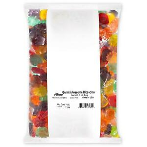 Albanese Confectionery Gummi Awesome Blossoms, 5 Pound Bag