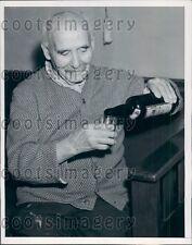 1940 103 Year Old Oakland CA Doctor B. J. von Hirsch Press Photo