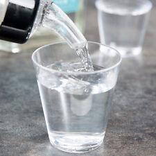 Choice 2 Oz. Clear Round Plastic Disposable Bar Shot Glasses 2500 per Case