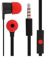 GENUINE HTC FLAT CABLE HANDSFREE HEADSET EARPHONES FOR ONE S V X +