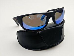 Italy! Maui Jim Peahi MJ202-2M Polarized Men's Sunglasses 65/19 120 / TK431