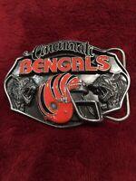 Custom Made Chicago Bears Canvas Web Belt and Buckle