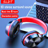 Wireless Bluetooth 5.0 Headphones Foldable Stereo Earphones Super Bass Headset