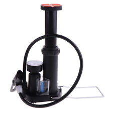 Bike Mini Floor Foot Air Pump with Gauge Presta and Schrader High Pressure