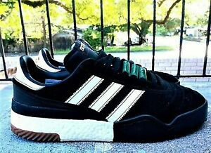 adidas Boost AW Bball Soccer Alexander Wang Core Black/Cloud White sneakers