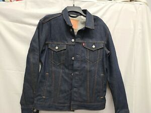 Levi's Classic Jean Trucker Biker Jacket Levi Strauss Signature Denim Sz. MEDIUM