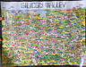 Vintage Silicon Valley Poster 1982 City Graphics of America 15.5x20 by Hoburg