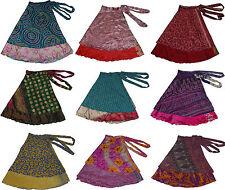 """Lot Of 10 Skirt Magic Kariza Wrap Vintage Sarong Skirts-30"""""""