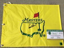 Rare Arnold Palmer Signed Pre 1999 Undated Masters Augusta Golf Pin Flag PGA COA
