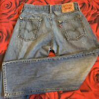 Levis 514 distressed slim straight Jeans 31 x 30