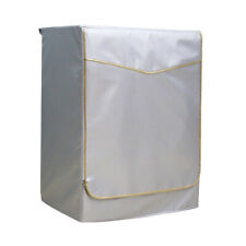 Anti Dust Washing Machine Zip On Dust Cover Protection Sunscreen Gold M