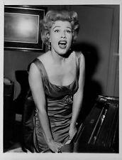 1962 Gale Robbins Stunning Hollywood Star Press Photo